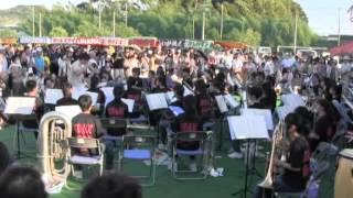 羽黒の夏祭り(6)吹奏楽・東部中