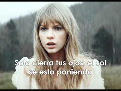 Taylor Swift-Safe And Sound (Traducida al Español)