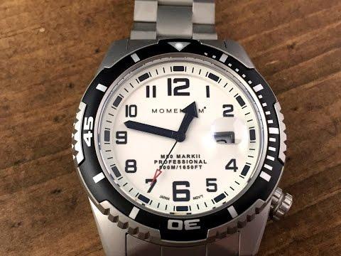 Momentum M50 Mark II Watch Review