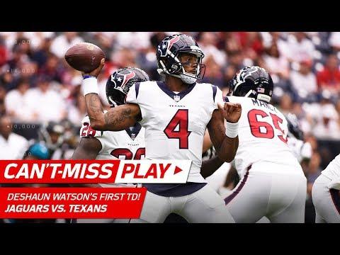 Deshaun Watson's First Career TD Drive! | Can't-Miss Play | NFL Week 1 Highlights (видео)