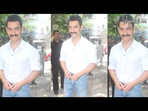 What was Aamir Khan doing in a sabzi mandi
