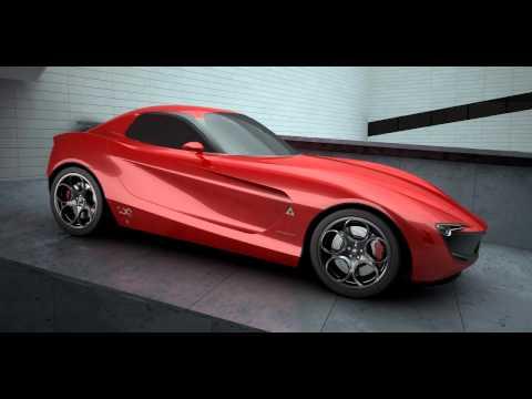 Alfa Romeo   Alfa Giulia Concept | By Vincent Montreuil