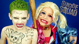 Video Harley Quinn and Joker Suicide Squad Makeup and Costumes MP3, 3GP, MP4, WEBM, AVI, FLV Agustus 2018