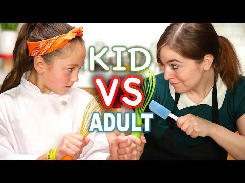 Kid MasterChef vs Adult Tasty Chef