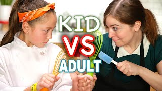 Kid MasterChef vs Adult Tasty Chef by Tasty
