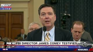 FNN: FBI Director James Comey's Testifies @ House Intelligence Committee Hearing - Opening Statement