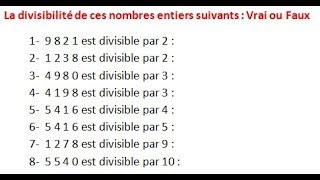 Maths 6ème - Les opérations : Addition Soustraction Multiplication Division Exercice 13