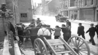 Carentan France  city photos : Fire In Carentan, 06/11/1944 (full)