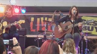 Hey Monday performs I Don't Wanna Dance live at a Best Buy in Fairless Hills, PA on August 26th. This was followed by a CD signing session to promote the new record, Beneath It All. I would highly recommend getting it! =]