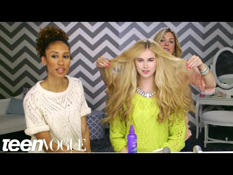 3 Steps to the Perfect Beachy Waves – Teen Vogue