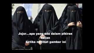 Multikultural, stereotype perempuan bercadar