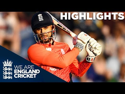 Hales The Hero In Final Over Drama | England v India 2nd Vitality IT20 2018 - Highlights