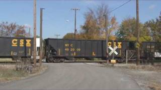 Rocky Mount (NC) United States  City pictures : USA 2008 CSX freights in the Rocky Mount, NC, area
