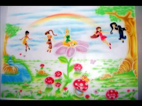 Pintura Infantil - Fadas