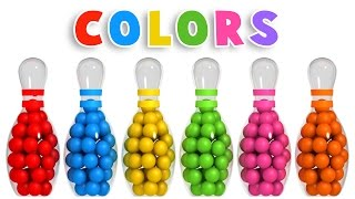 Video Colors for Children to Learn with 3D Bowling Game - Colours Videos Collection for Children MP3, 3GP, MP4, WEBM, AVI, FLV September 2017