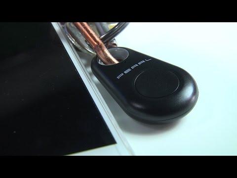 PORTE-CLES SIFFLEUR BLUETOOTH 5 EN 1 - recherche vos clés & votre smartphone - [PEARLTV.FR]