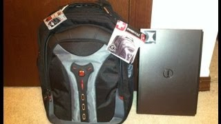 "Reviewing my new SwissGear Pegasus Laptop Backpack for 17"" laptops. I love the many pockets and roomy interior. This is ..."
