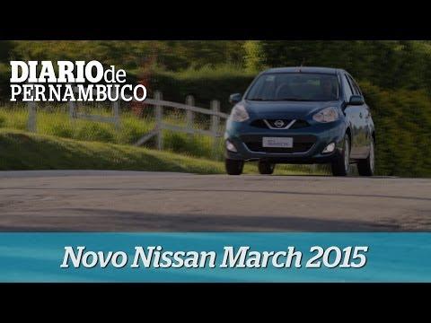 Conheça o novo Nissan March 2015