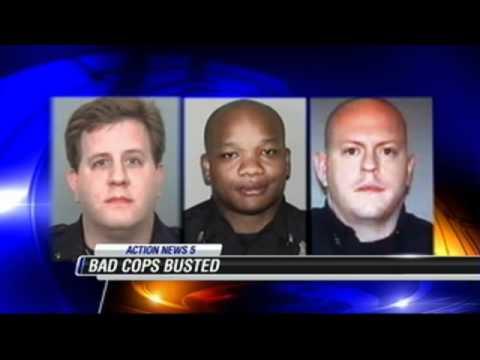 Corrupt Cops Arrested in Memphis