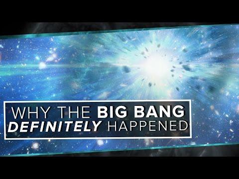 Why the Big Bang Definitely Happened