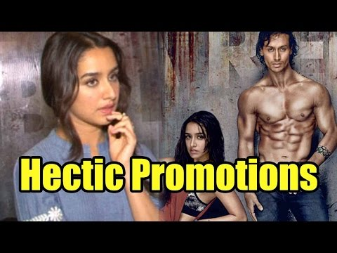 Are Baaghi Promotions Hectic For Shraddha Kapoor?