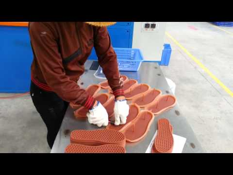 Sản xuất đế giày cao su