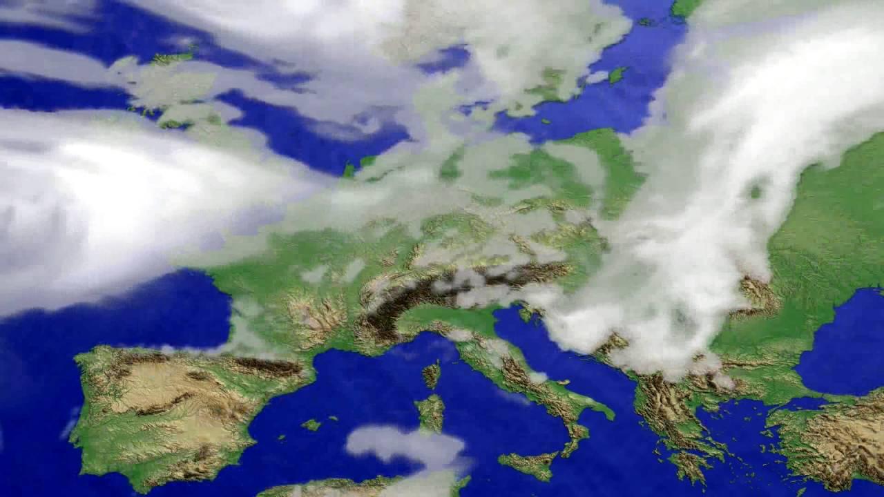 Cloud forecast Europe 2016-07-30