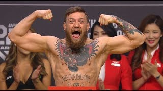 Video UFC 229: Khabib vs McGregor Weigh-in MP3, 3GP, MP4, WEBM, AVI, FLV Februari 2019