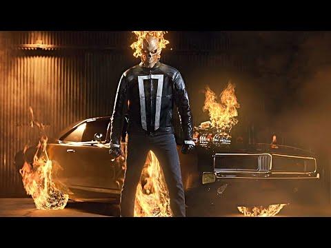 Robbie Reyes (Ghost Rider) All Powers Scenes | MCU Compilation [HD]