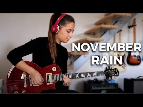"Guns N' Roses  ""November Rain"" Cover by Rockloe"