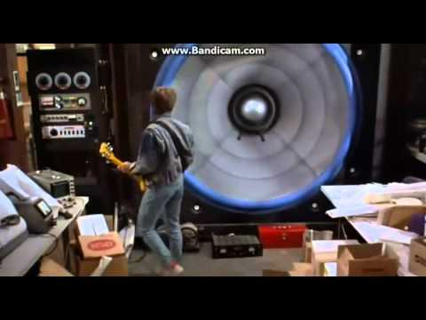 Back To The Future Story 1 Screen Of Giant Speaker