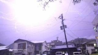 Amami Island Japan  city pictures gallery : Thunderstorm at Amami Island, Japan 2016/05/09