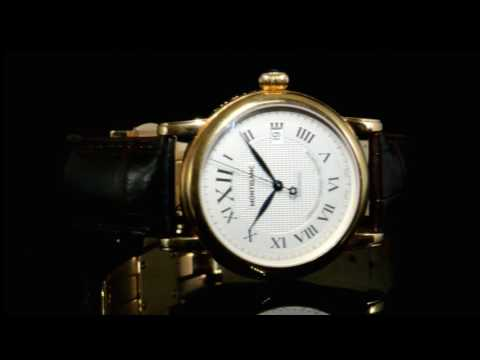 Men's 'Montblanc Star Red Gold Xl' Automatic Wristwatch