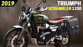 9. NEW 2019 Triumph Scrambler 1200 XE And Scrambler 1200 XC - Awesome New Design And Engine