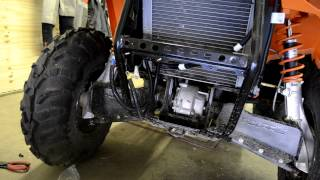 11. Part 1 How to install a winch on a 2012 polaris sportsman 500 ho