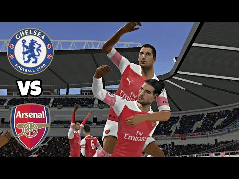 Chelsea VS Arsenal ● Dream League Soccer 2019 Gameplay
