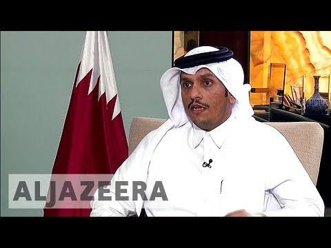 Qatar's foreign minister talks to Al Jazeera about diplomatic crisis