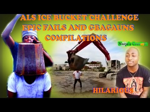 ALS Ice Bucket Challenge Epic Fails and Gbagaun Compilations- Hilarious Satire