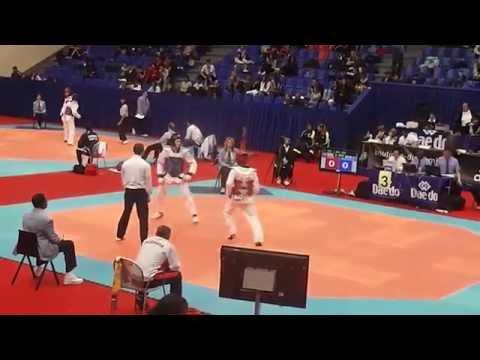 Taekwondo France Open GEO-ISR (видео)