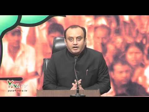 BJP would not tolerate any antinational activity: Shri Sudhanshu Trivedi, 13.02.2016