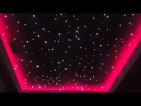Paski LED SMD 3528 jednokolorowe na suficie