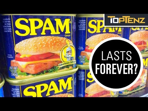 Top 10 Foods That (Almost) Never Expire