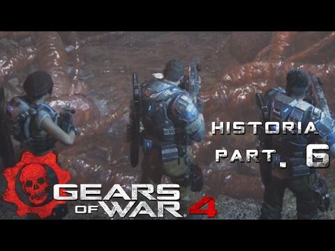 GEARS OF WARS 4: #6 HISTORIA. Ascenso al infierno / ¡y nos fuimos para bajo! seee