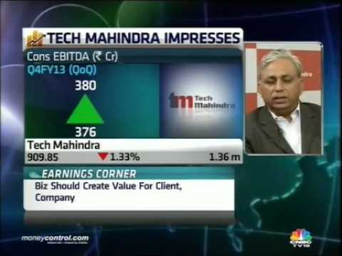 Earnings - Tech Mahindra has posted good Q4 numbers, with revenue for the fourth quarter up 6.5% to Rs 1907 crore, and profit growth at 36.8%. The management says the ...
