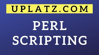 Perl Scripting | Perl Tutorial and Certification Training Course | Programming & IT Training Courses