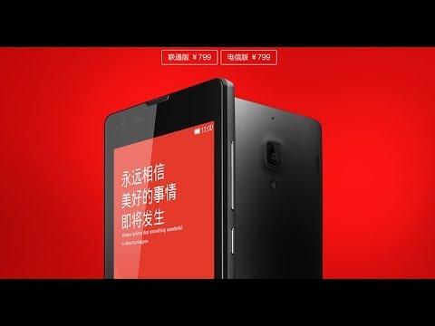 Xiaomi Hongmi 1S Redmi 1S First Look!Snapdragon msm8228 1.6Ghz 1GB/8GB