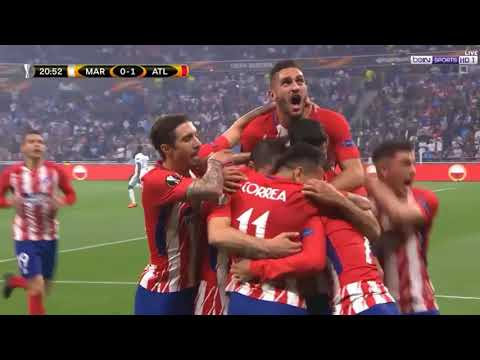 Atletico Madrid-Marsiglia 3-0 - All Goals and Highlights HD - 16/05/2018