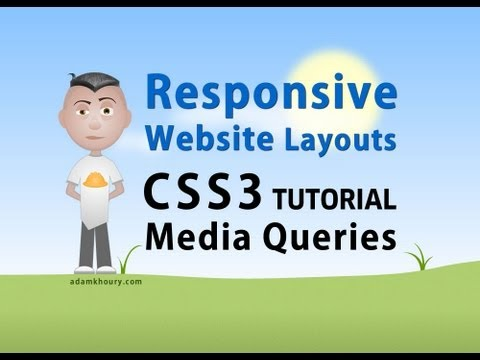 Responsive Website Layout Media Queries CSS Stylesheets