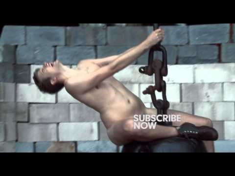 Greg James does Miley Cyrus' Wrecking Ball……..NAKED