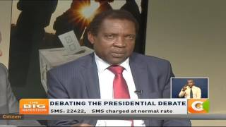The Big Question: Debating the Presidential Debate #TheBigQuestionCitizen TV is Kenya's leading television station commanding an audience reach of over 60% and in its over 12 years of existence as a pioneer brand for the Royal Media Services (RMS), it has set footprints across the country leaving no region uncovered. This is your ideal channel for the latest and breaking news, top stories, politics, business, sports, lifestyle and entertainment from Kenya and around the world.Follow us:http://citizentv.co.kehttps://twitter.com/citizentvkenyahttps://www.facebook.com/Citizentvkenyahttps://plus.google.com/+CitizenTVKenyahttps://instagram.com/citizentvkenya